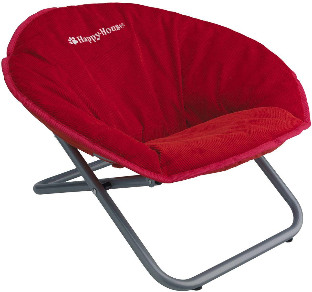 Стул для животных Happy House New Classic, цвет: красный, 55 х 51 х 36 см teak house стул buton