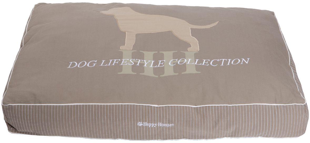 Подушка для домашних животных Happy House Dog Lifestyle. Лабрадор, 28191/18191-54, серо-коричневый поводок для собак happy house luxury цвет темно коричневый длина 125 см
