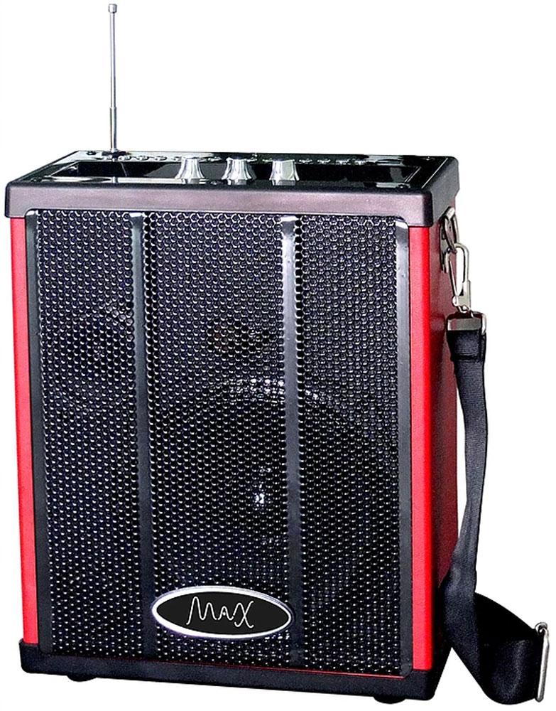 Беспроводная колонка MAX Q71, Red Black