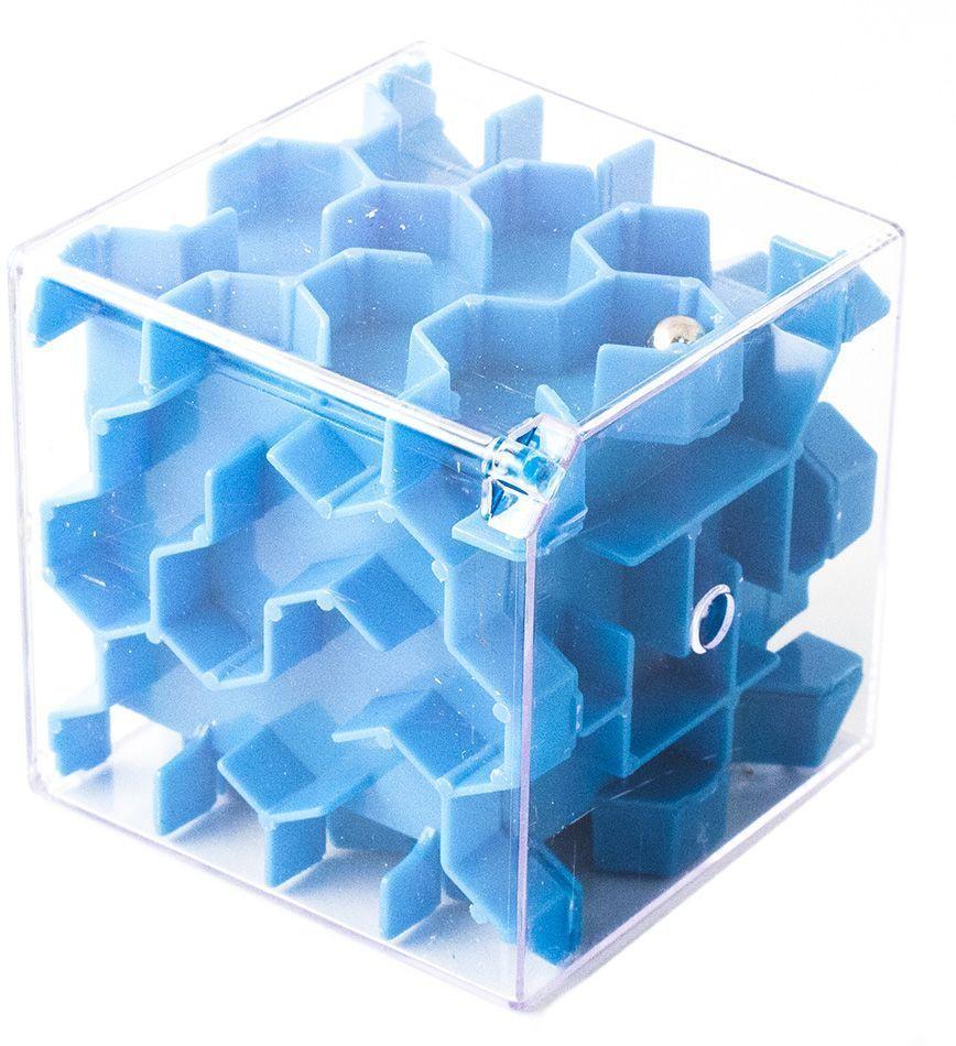 Копилка-головоломка Эврика Лабиринт, цвет: синий головоломка эврика лабиринт сфера red 98723