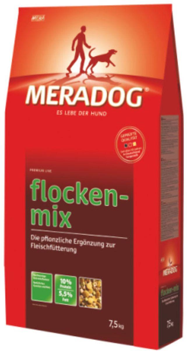 Корм сухой Meradog Flockenmix, для взрослых собак, 7,5 кг лакомство для собак meradog goody sn turkey