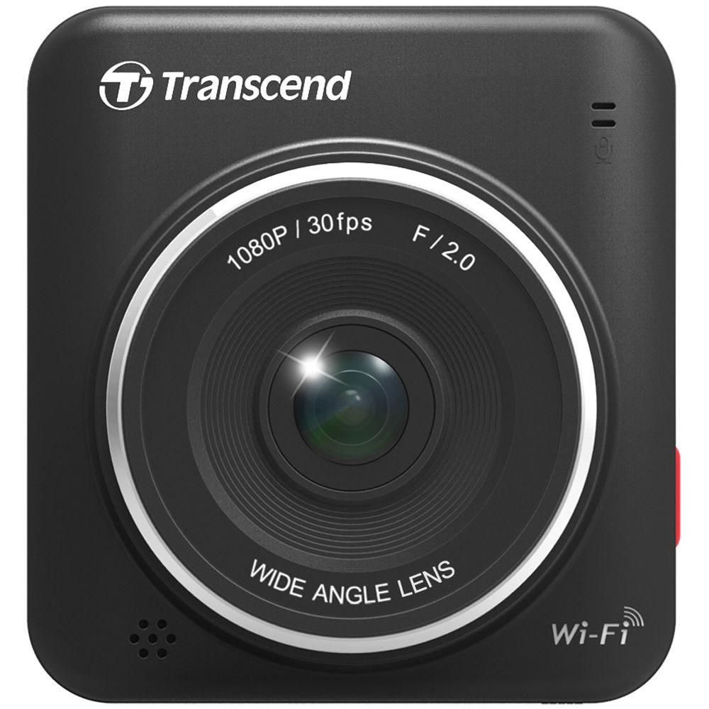 Фото - Transcend DrivePro 200 видеорегистратор автомобильный + microSD 16Gb видео