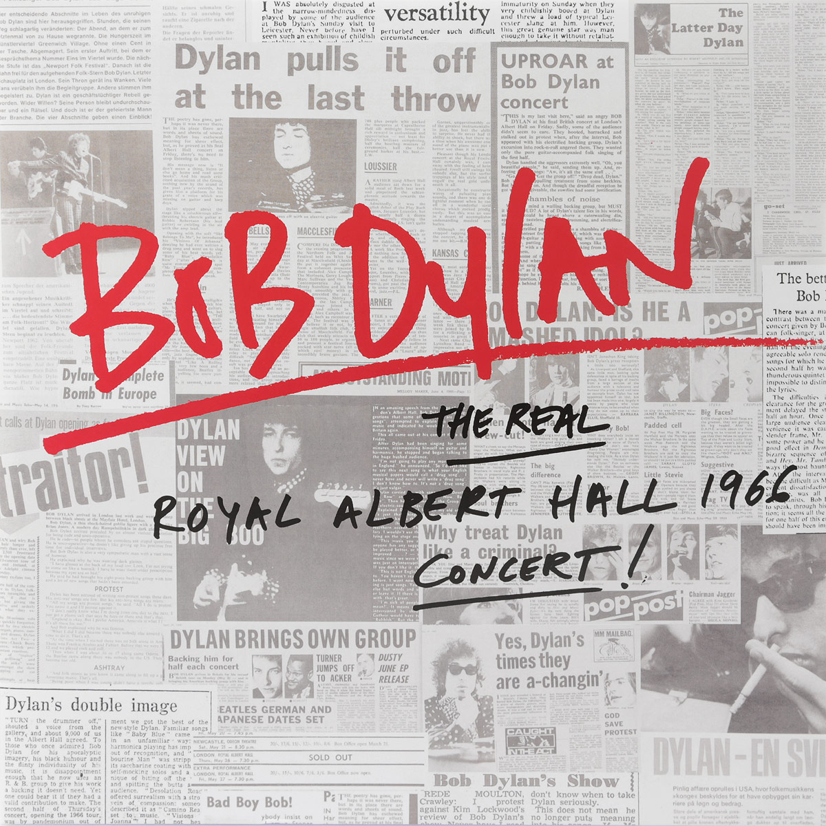 Боб Дилан Bob Dylan. The Real Royal Albert Hall 1966 Concert (2 LP) боб дилан bob dylan the collection