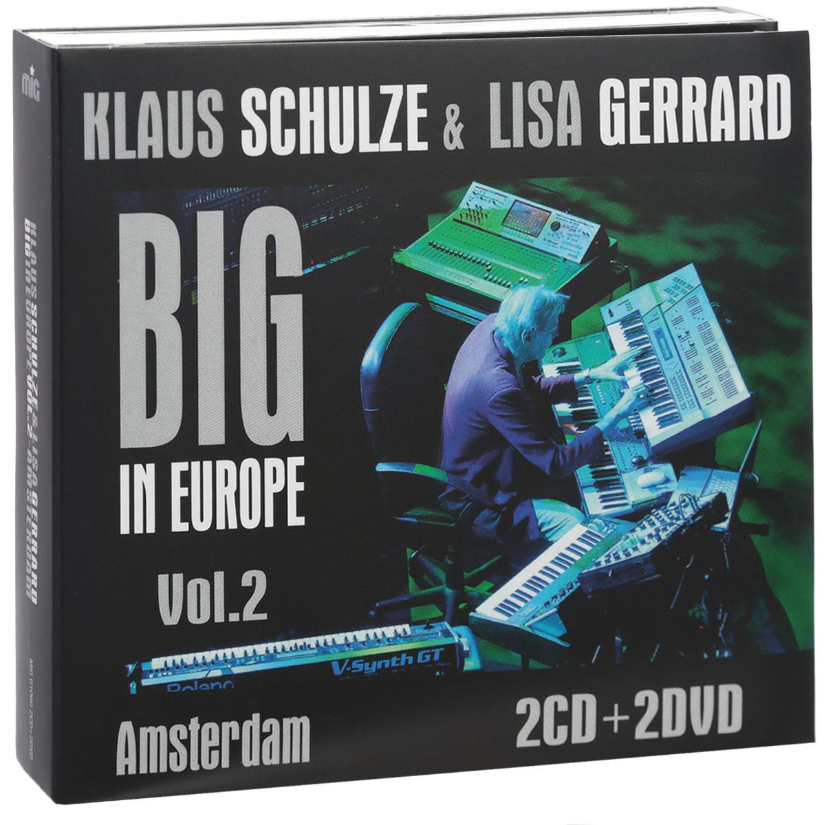 цена на Клаус Шульце,Лайза Джеррард Klaus Schulze & Lisa Gerrard. Big In Europe Vol. 2. Amsterdam (2 CD + 2 DVD)