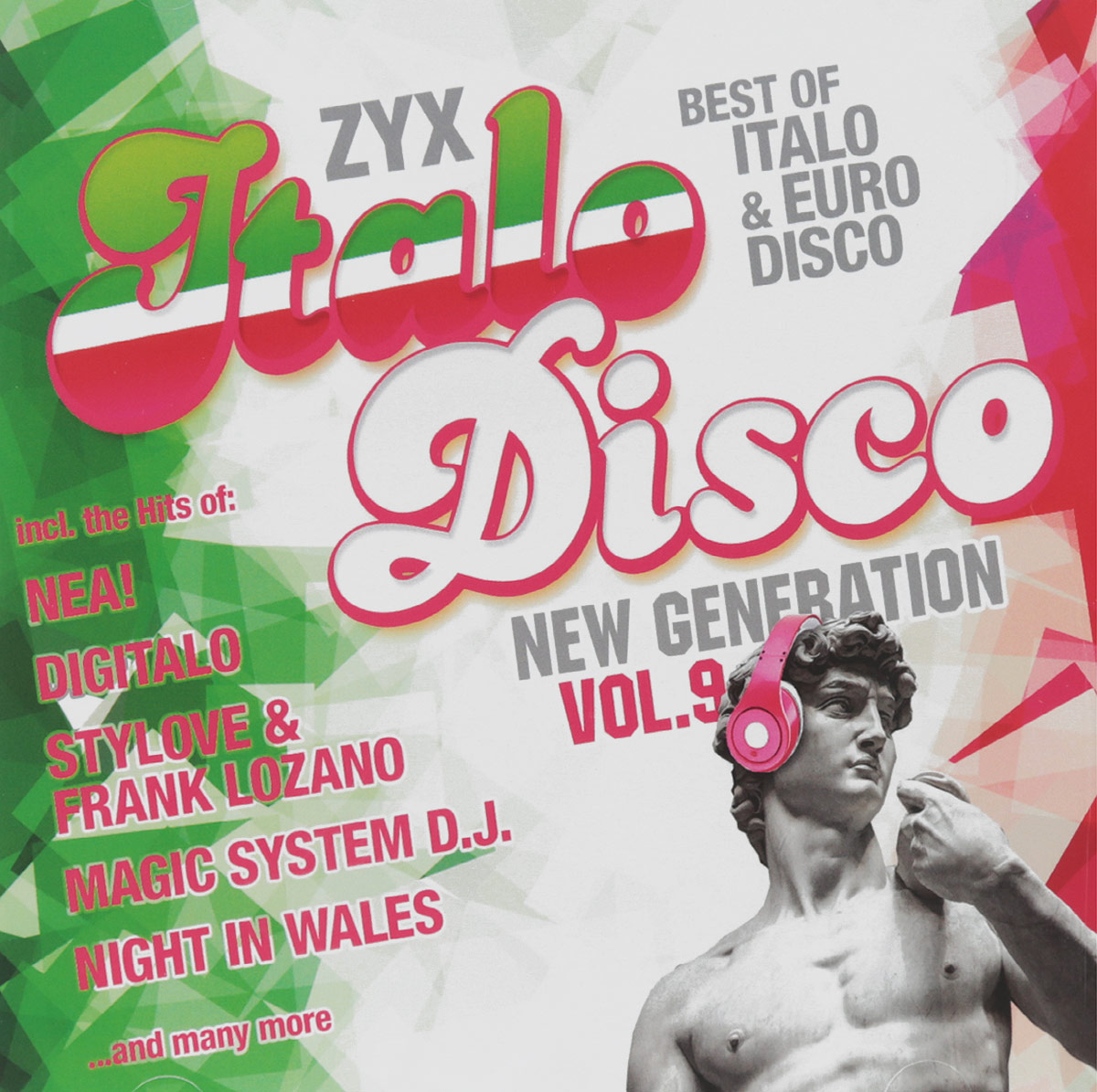 Frank Lozano,Magic System,Cristina Manzano,Tom Garrow,Nea!,Vanello,Synthgo,Джозефина Суитт,Nation In Blue ,Peter Wilson ZYX Italo Disco. New Generation. Volume 9 (2 CD) peter lamborn wilson false documents