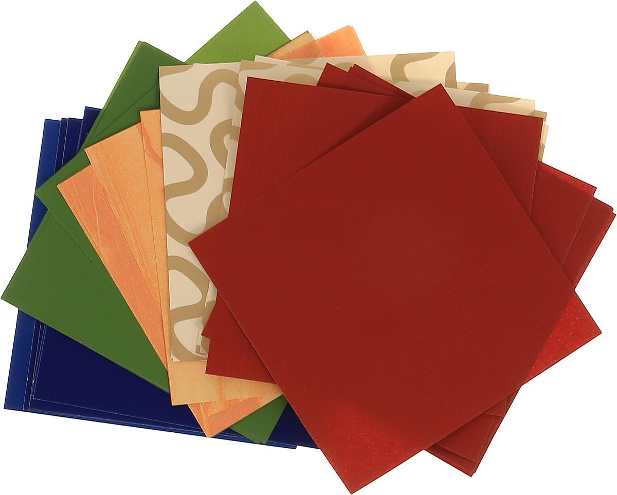 Альт Набор цветной бумаги для оригами Лягушка 30 листов Альт
