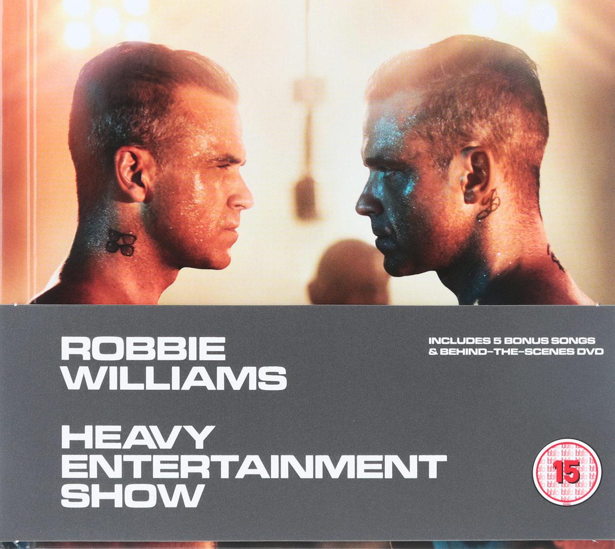 лучшая цена Робби Уильямс Robbie Williams. Heavy Entertainment Show (CD + DVD)