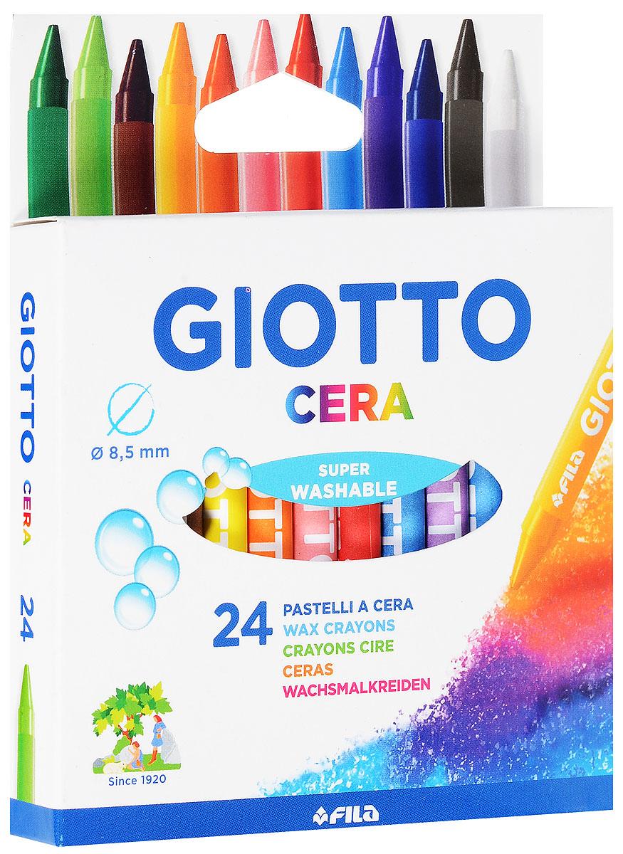 Восковые карандаши Giotto