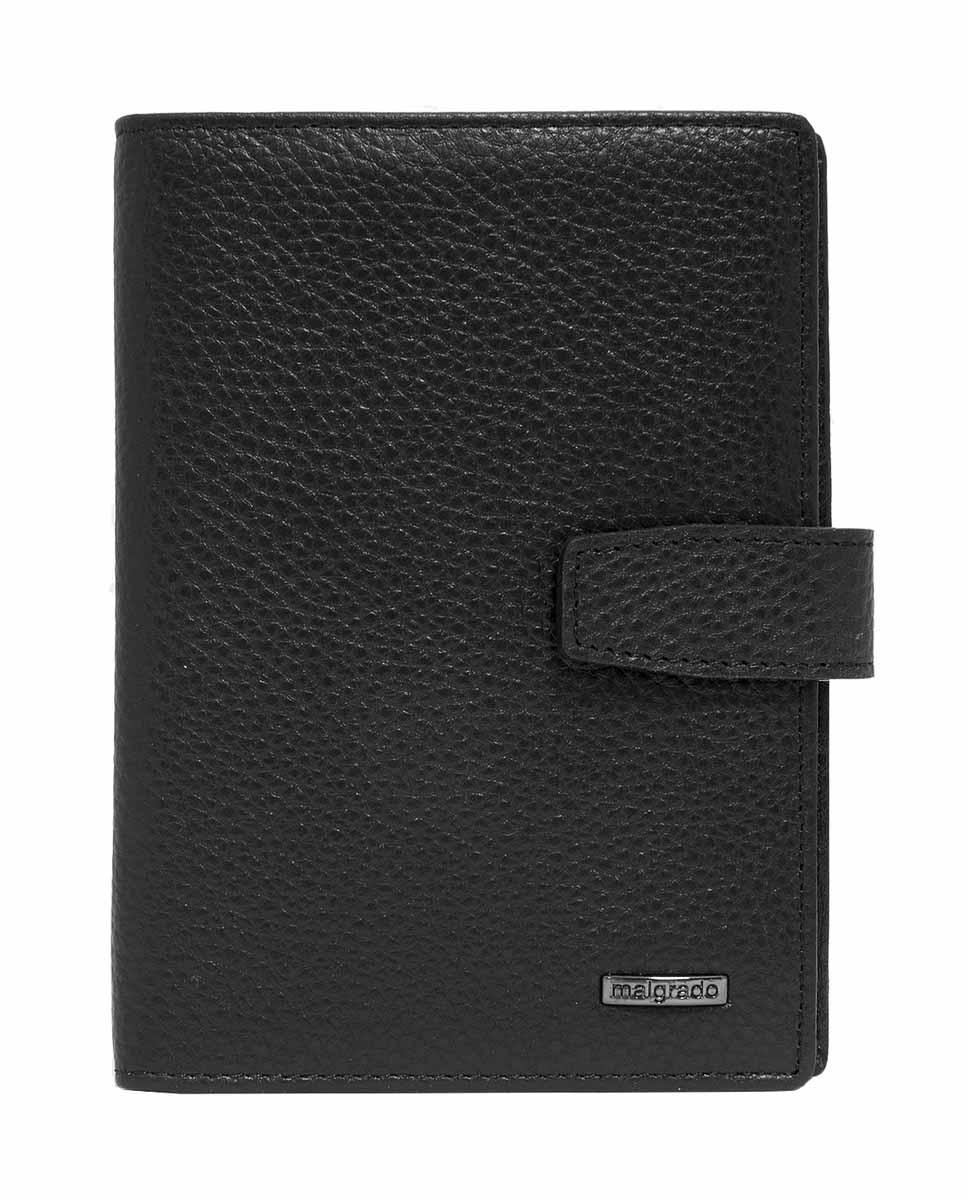 Обложка для документов мужская Malgrado, цвет: черный. 54029-5001D обложка для паспорта malgrado цвет красный 54019 1 44