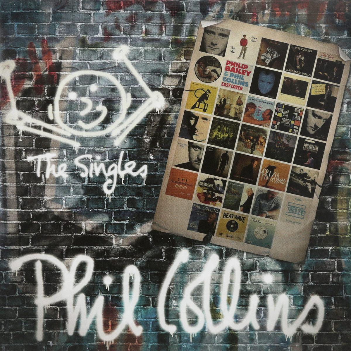 Фил Коллинз Phil Collins. The Singles phil collins phil collins the singles 2 lp
