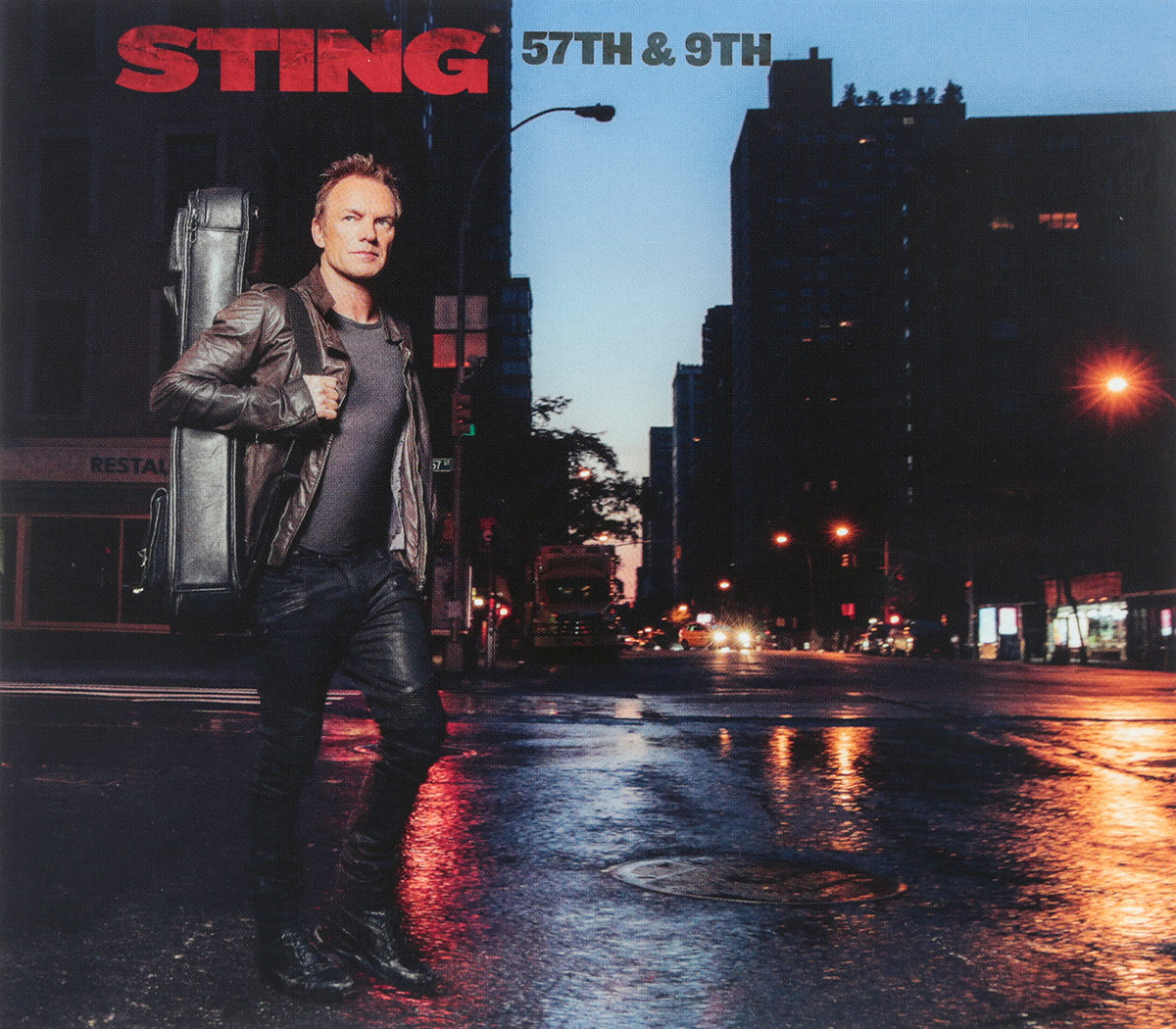 Стинг Sting. 57Th & 9Th стинг sting brand new day