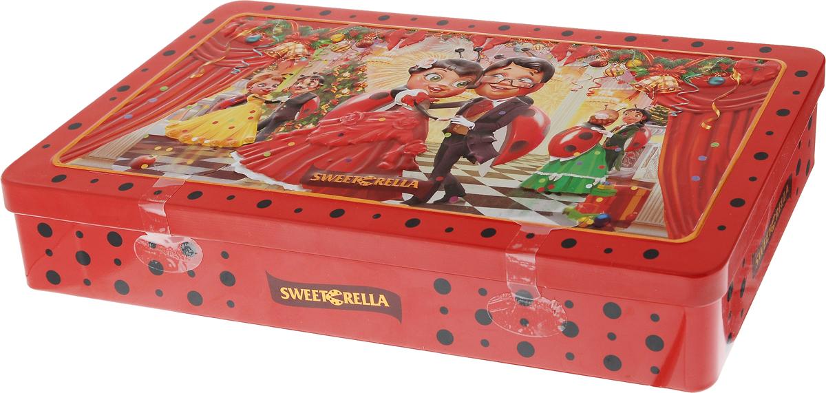 Sweeterella Новогодний фейерверк конфеты шоколадные ассорти, 140 г шоколеди тайна искушения конфеты шоколадные 195 г