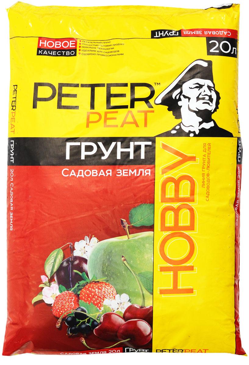 Грунт для растений Peter Peat Садовая земля, 20 л грунт кроющий axton 1 л