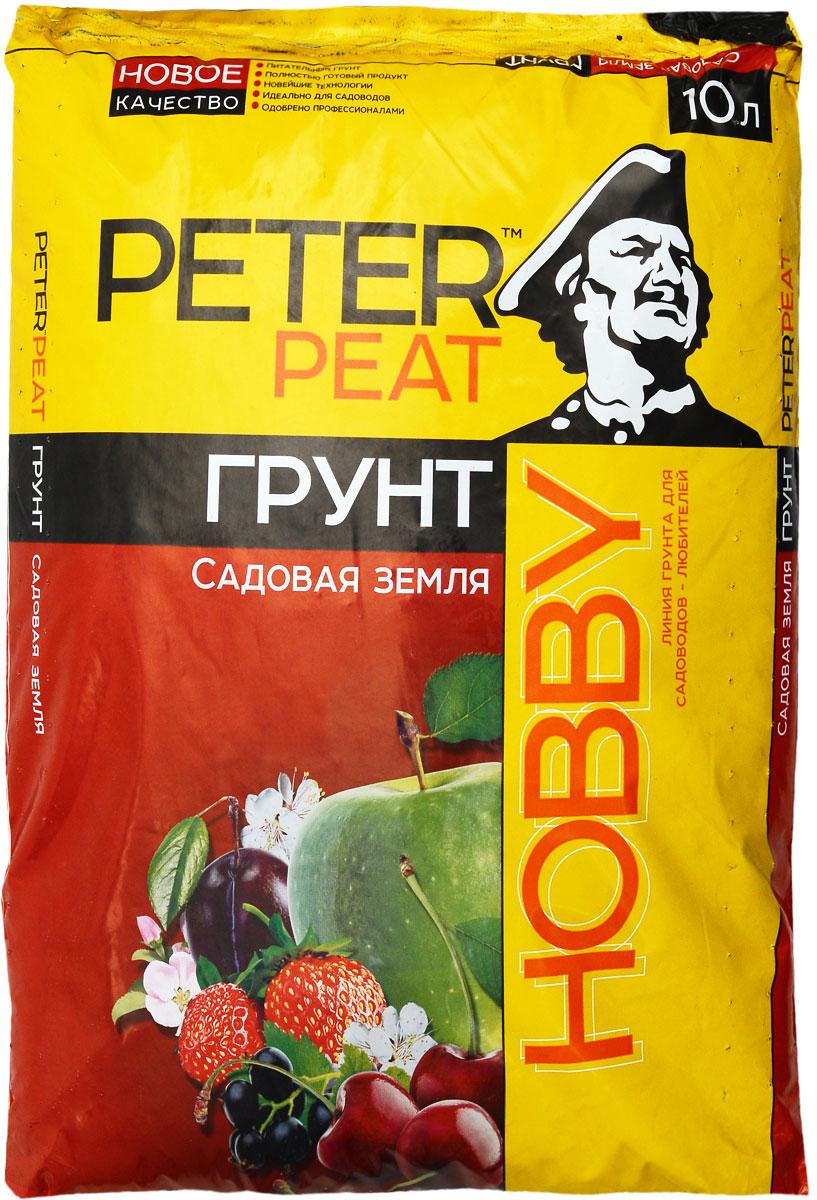 Грунт для растений Peter Peat Садовая земля, 10 л грунт кроющий axton 1 л
