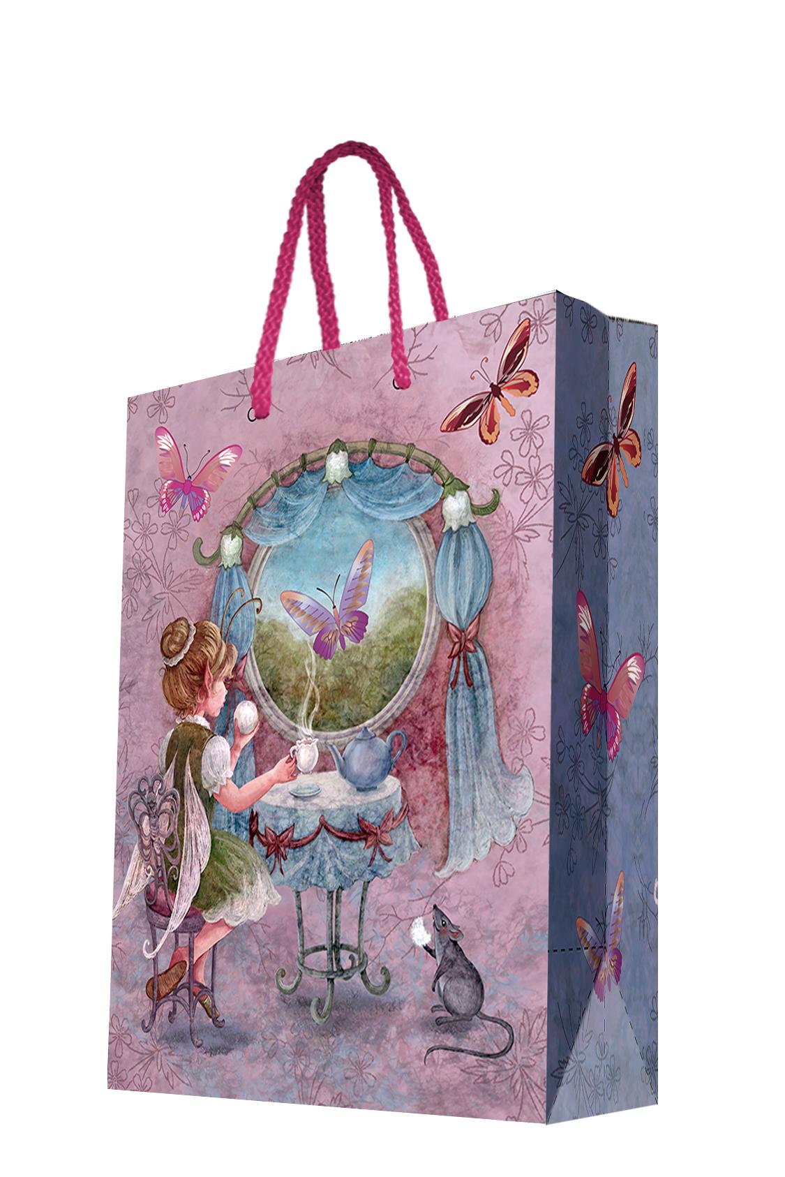 Пакет подарочный Magic Home Волшебное чаепитие, 26 х 32,4 х 12,7 см пакет подарочный а4 26 32 12 7см новогодние часыбумажный с ламинацией 140 г м2 75312