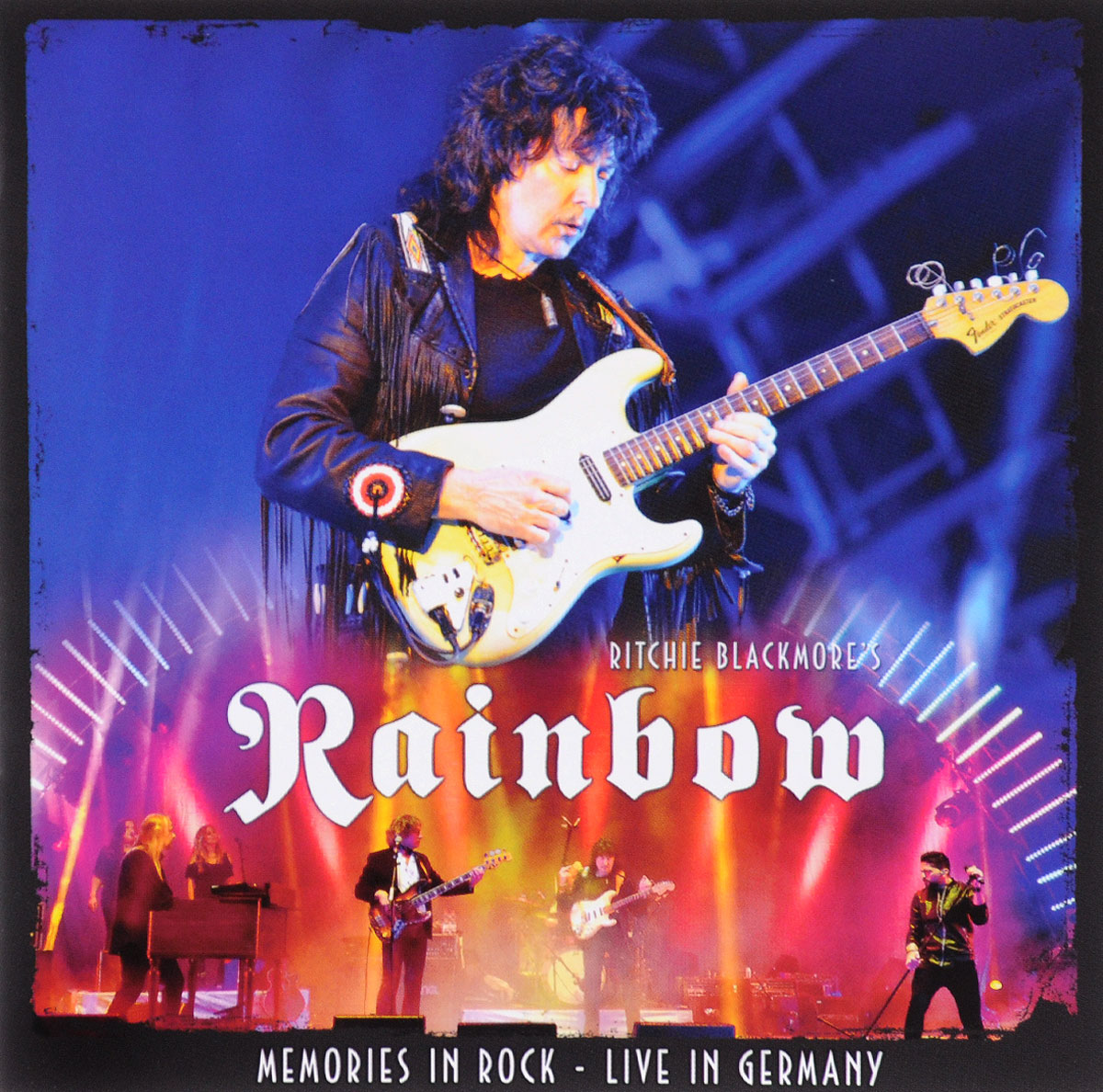Rainbow Rainbow. Memories In Rock. Live In Germany (2 CD) rainbow rainbow long live rock