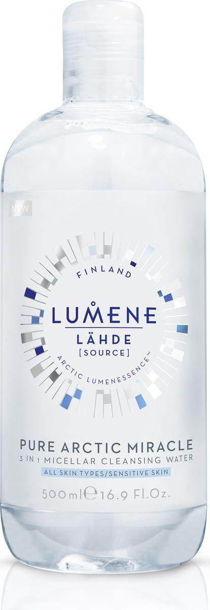 Lumene Lahde Мицеллярная вода 3 в 1, 500 мл мицеллярная вода lumene lumene lu021luyxp33