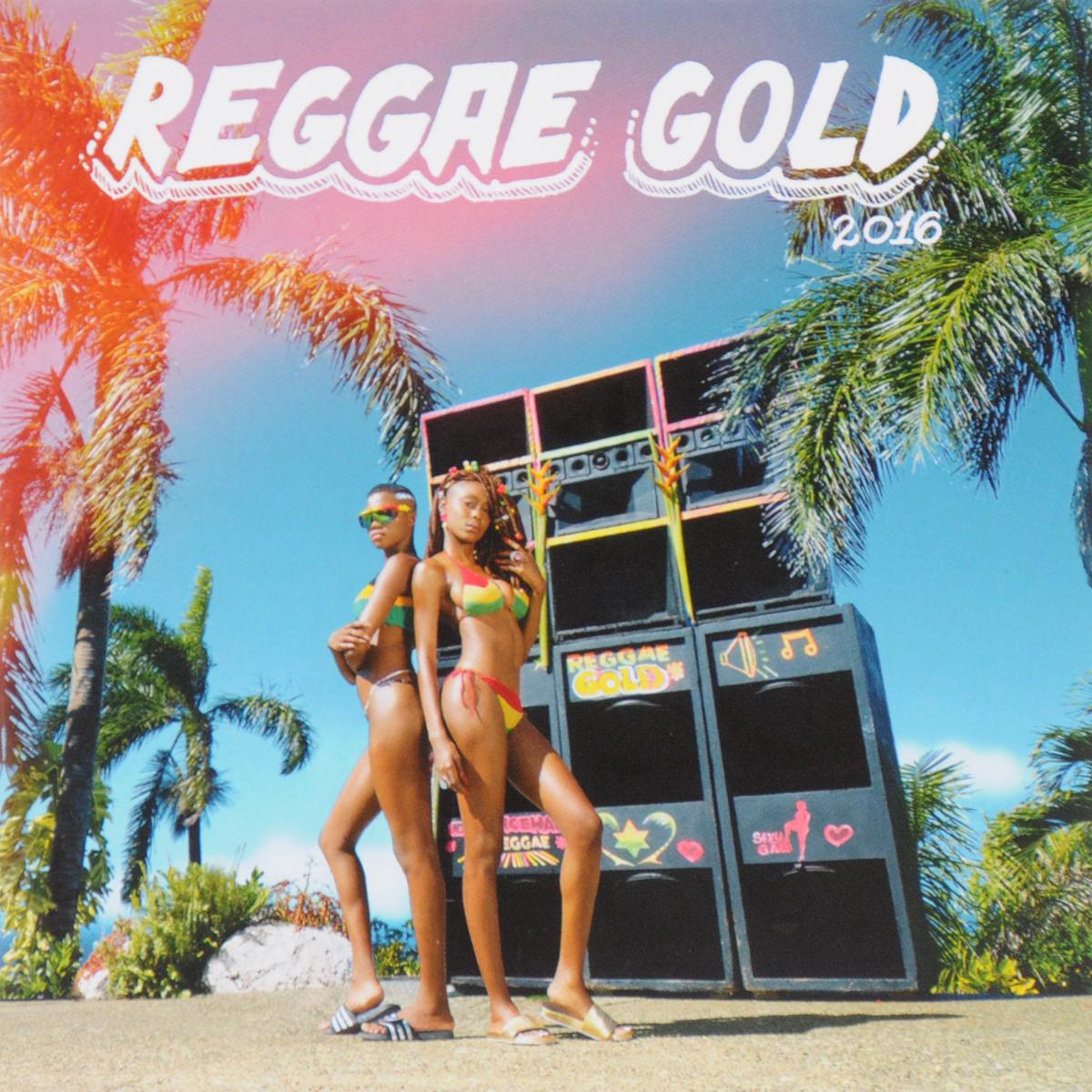 """""""Busy Signal"""",Jamie XX,Young Thug,Popcaan,Кристофер Мартин,Бини Мэн,Элефант Мэн,Dexta Daps,Банжи Гарлин,Tenor Saw,""""Chromatic The Ultimate"""" Reggae Gold 2016 (2 CD)"""