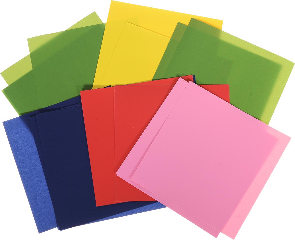 Альт Набор цветной бумаги для оригами Бык 30 листов Альт