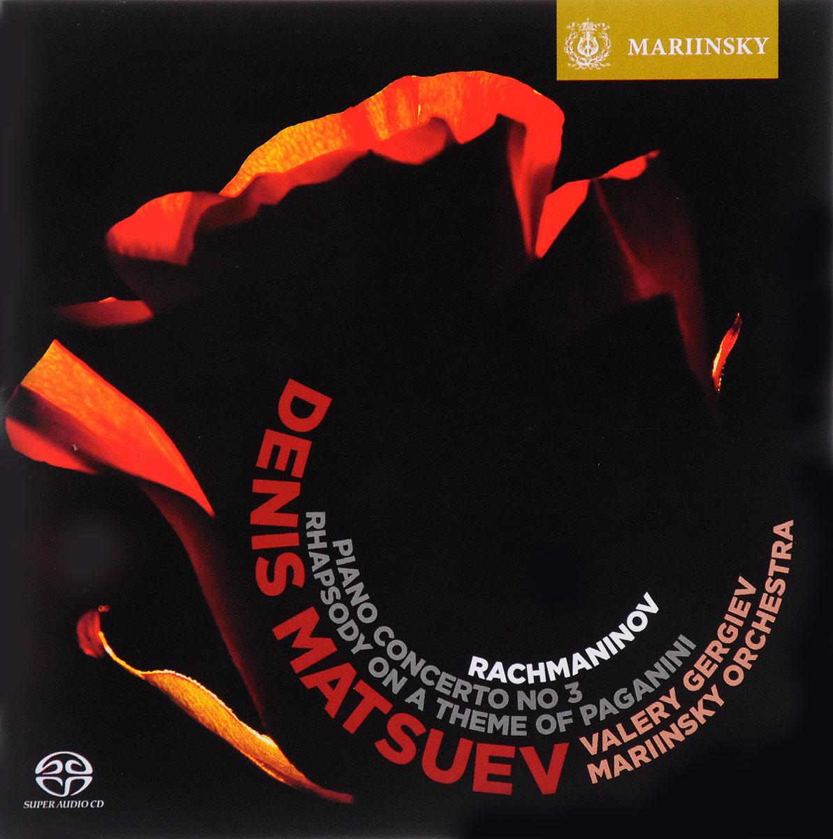 все цены на Денис Мацуев Valery Gergiev. Denis Matsuev. Rachmaninov. Rhapsody on a Theme of Paganini / Piano Concerto №3 онлайн