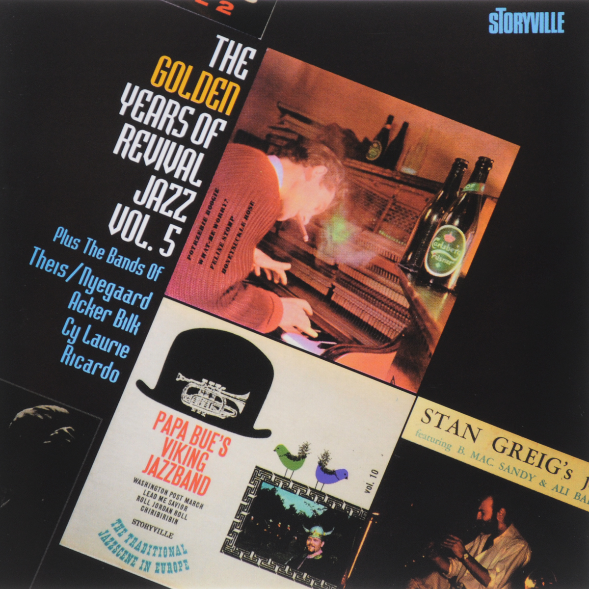 Papa Bue's Viking Jazz Band,Sandy Brown's Jazz Band,Johnny Parker Trio,Theis-Nyegaard Jazz Band,Акер Билк,His Paramount Jazz Band,Ricardo's Jazzmen,Cy Laurie's New Orleans Septet The Golden Years Of Revival Jazz. Vol.5 цена и фото