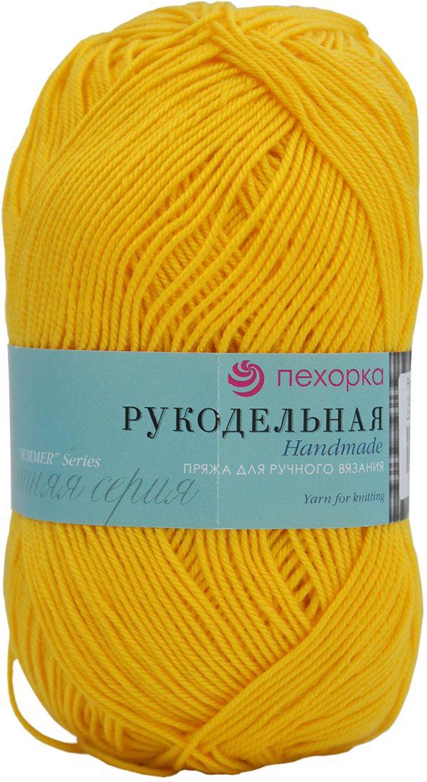 Пряжа для вязания Пехорка Рукодельная, цвет: желток (12), 175 м, 50 г, 5 шт пряжа для вязания пехорка рукодельная цвет сирень 22 175 м 50 г 5 шт