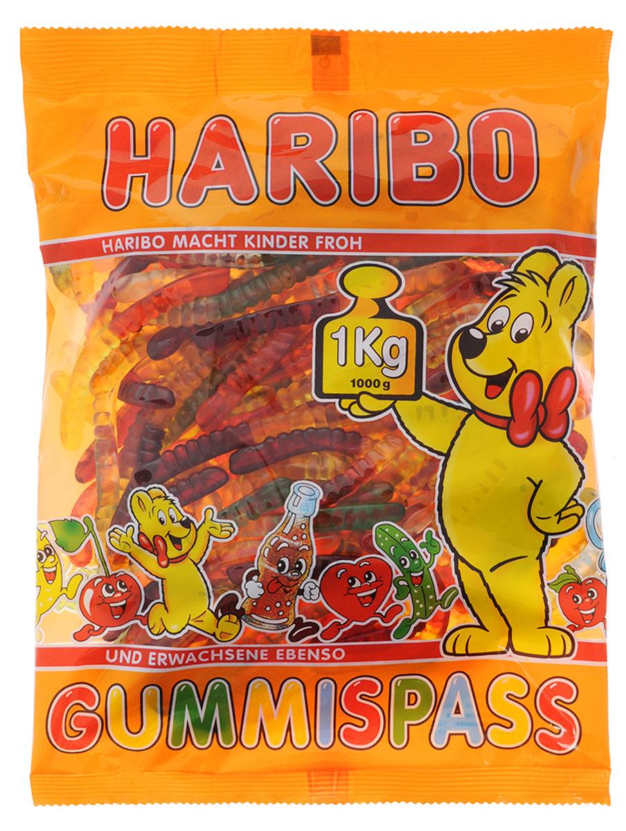 HariboЧервячки Вуммис жевательный мармелад, 1 кг Haribo