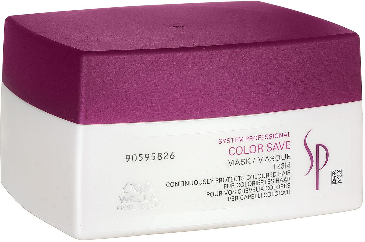 Wella SP Маска для окрашенных волос Color Save Mask, 200 мл шампунь для окрашенных волос wella sp color save shampoo 1000 мл