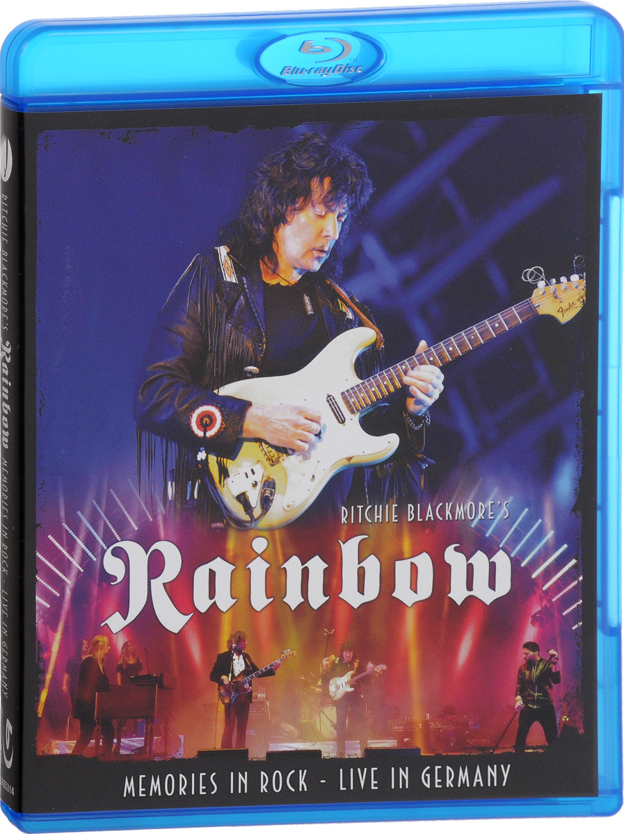 Rainbow: Memories In Rock. Live In Germany (Blu-ray) rainbow rainbow long live rock