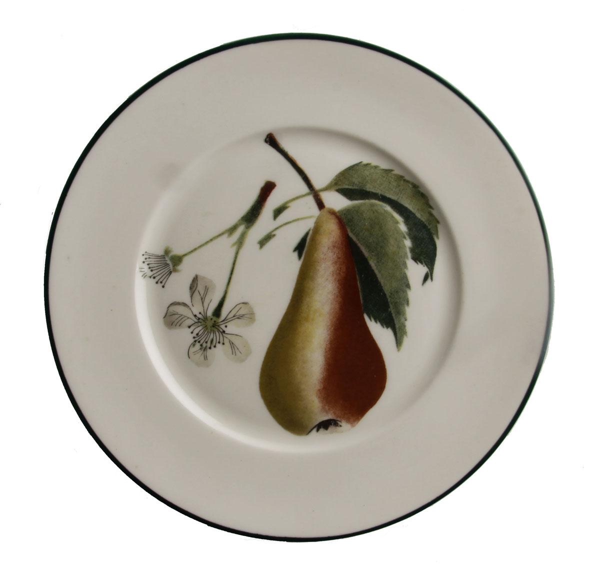 Тарелка Груша Аббат. Фарфор, роспись. Дания, Lunning, вторая половина XX века кольцо бижутерия 2409690