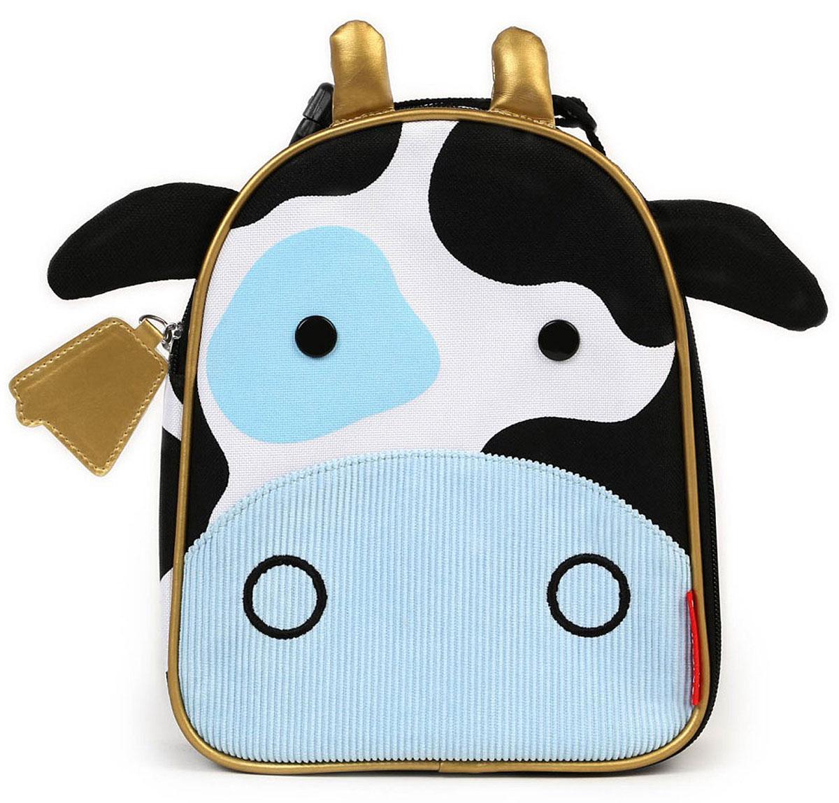 Skip Hop Сумка ланч-бокс детская Корова сумочка для ланч бокса детская skip hop божья коровка