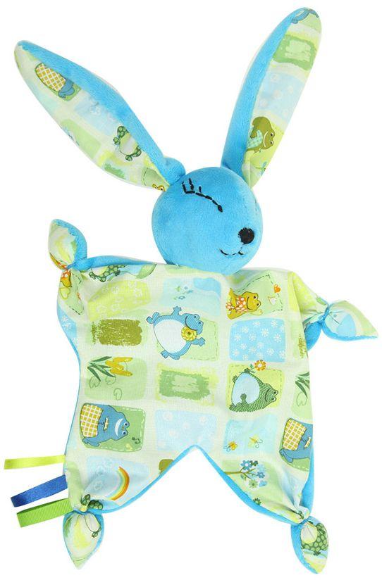 Набор для шитья игрушки Цветной Зайка-Комфортер, высота 30 см. DIE026