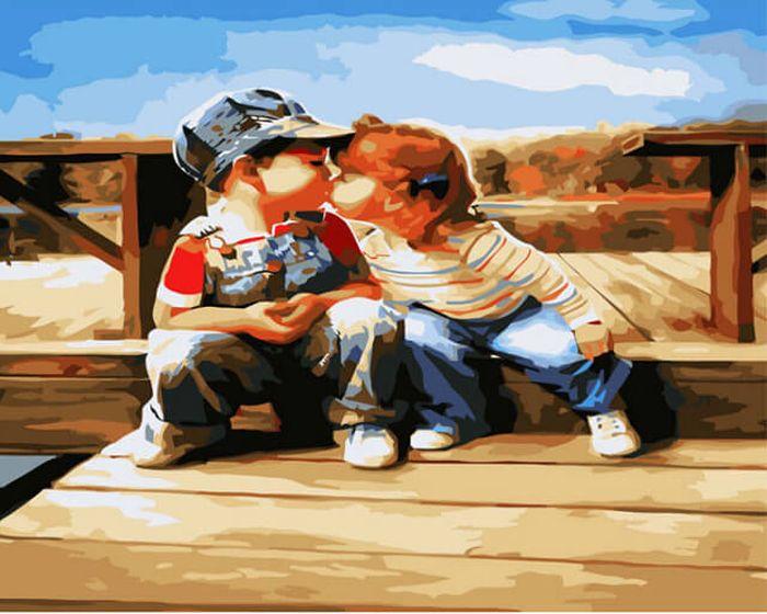 Смешные картинки про первую любовь