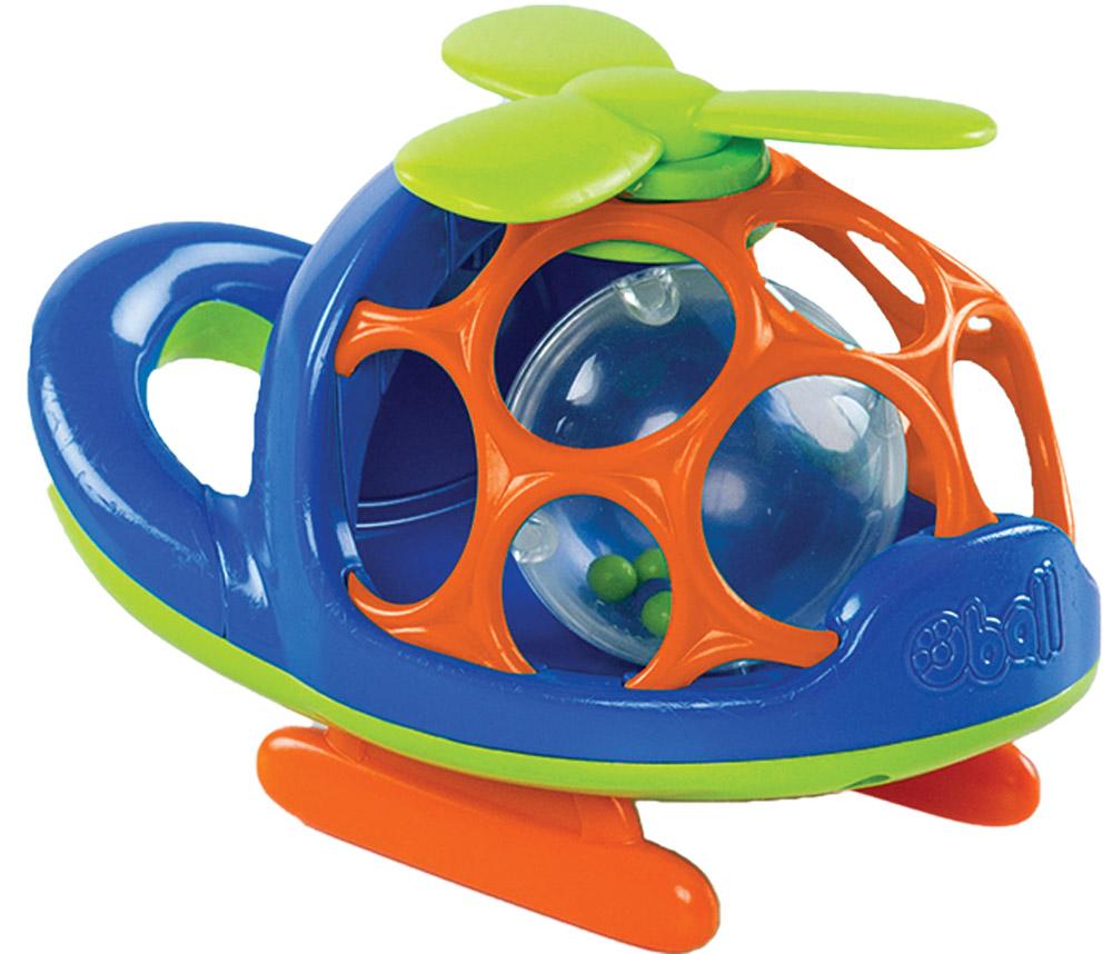 Oball Вертолет цвет синий игрушка oball red 10556 1