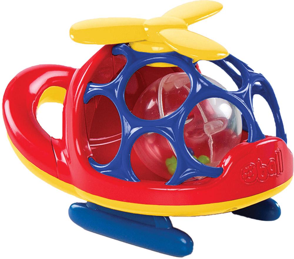 Oball Вертолет цвет красный oball игрушка для ванной лодочка цвет синий