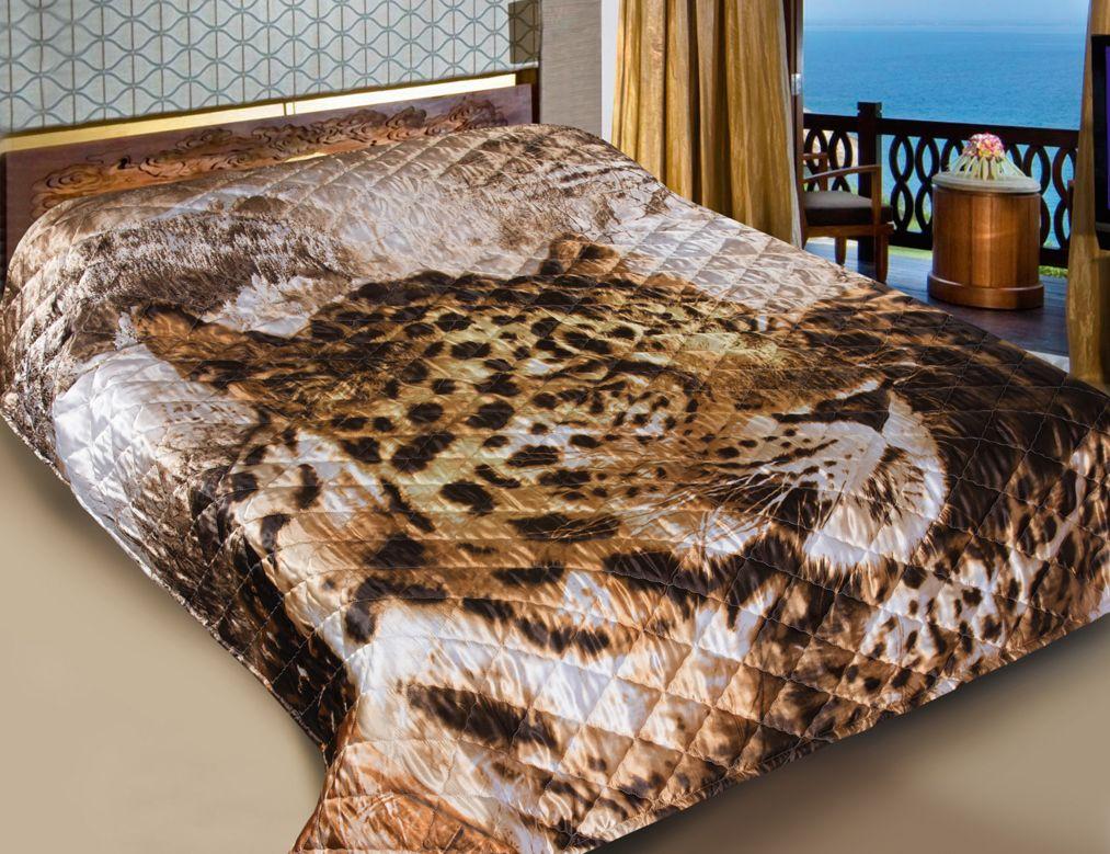 "Покрывало Guten Morgen ""Леопард"", 190 х 200 см"