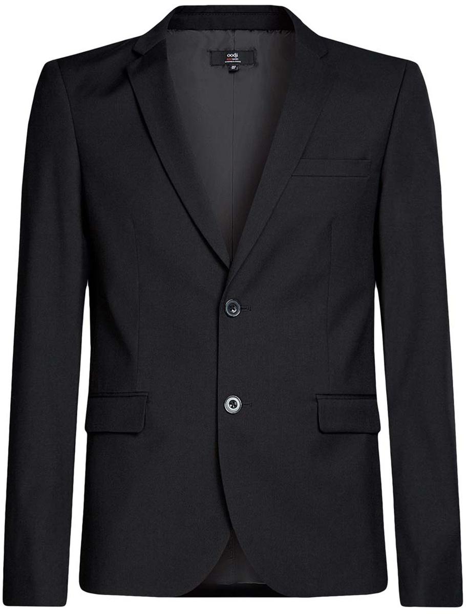 Пиджак oodji Basic пиджак с отложным воротником b young