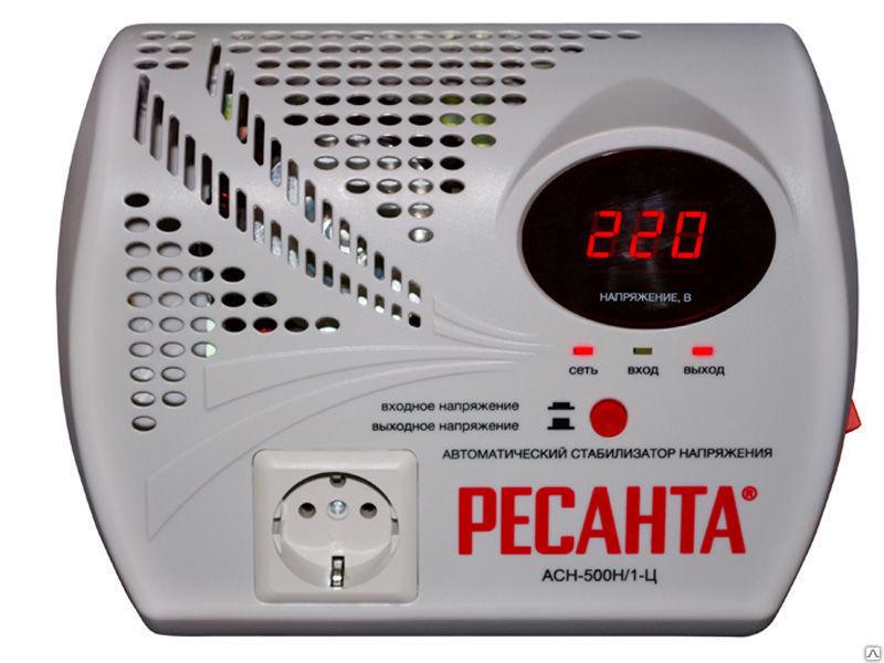 цена на Стабилизатор напряжения Ресанта АСН-500 Н/1-Ц