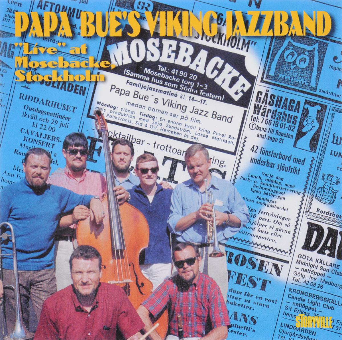 Papa Bue's Viking Jazz Band Papa Bue's Viking Jazzband. Live At Mosebacke, Stockholm цена и фото