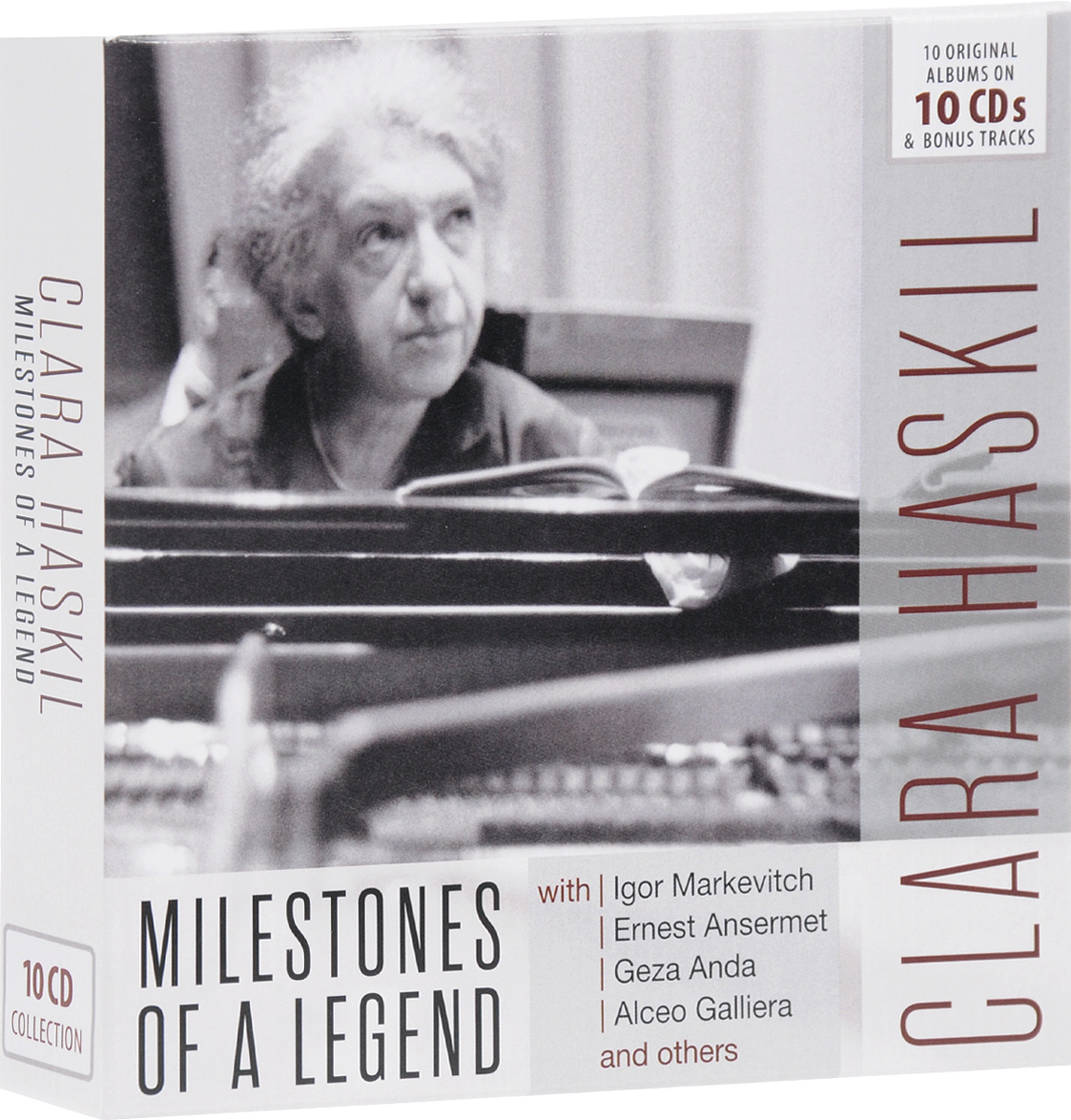 Клара Хаскил Clara Haskil. Milestones Of A Legend (10 CD) клара хаскил clara haskil 10 cd