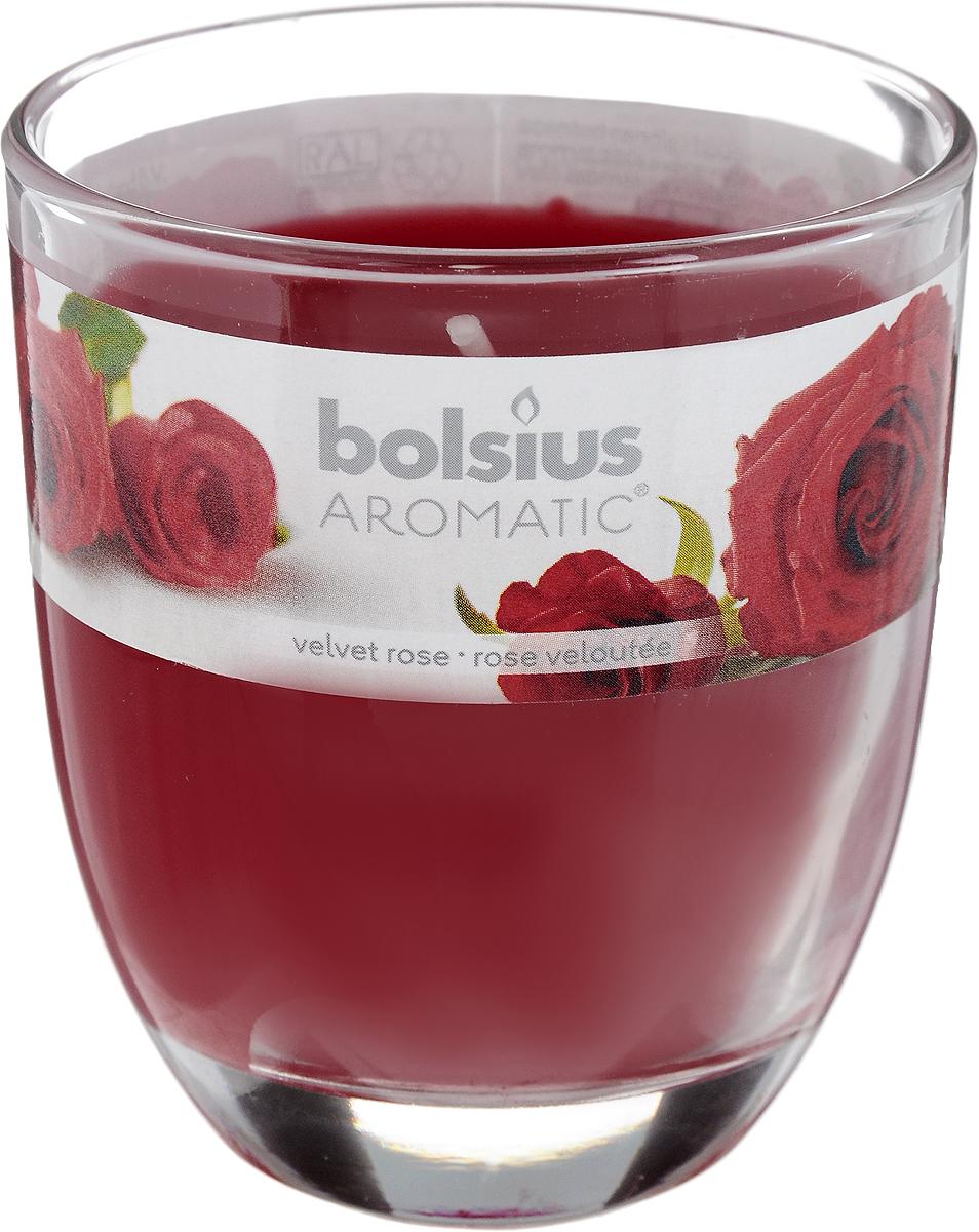 "Свеча ароматическая Bolsius ""Роза"", 7 х 7 х 8 см"