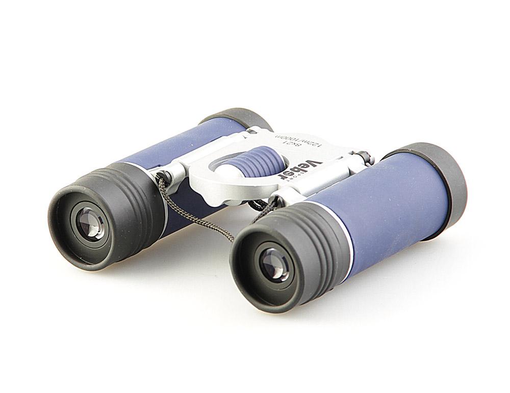 """Бинокль Veber """"Sport"""", цвет: черный, синий, БН 8x21 NEW"""