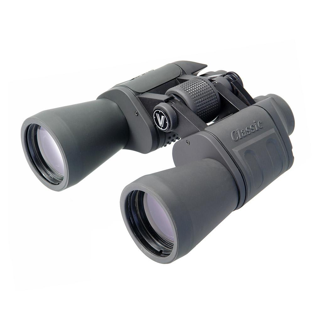 Бинокль Veber Classic, цвет: серый, БПЦ 16x50 VR бинокль veber zoom цвет черный бпц zoom 7 15x35