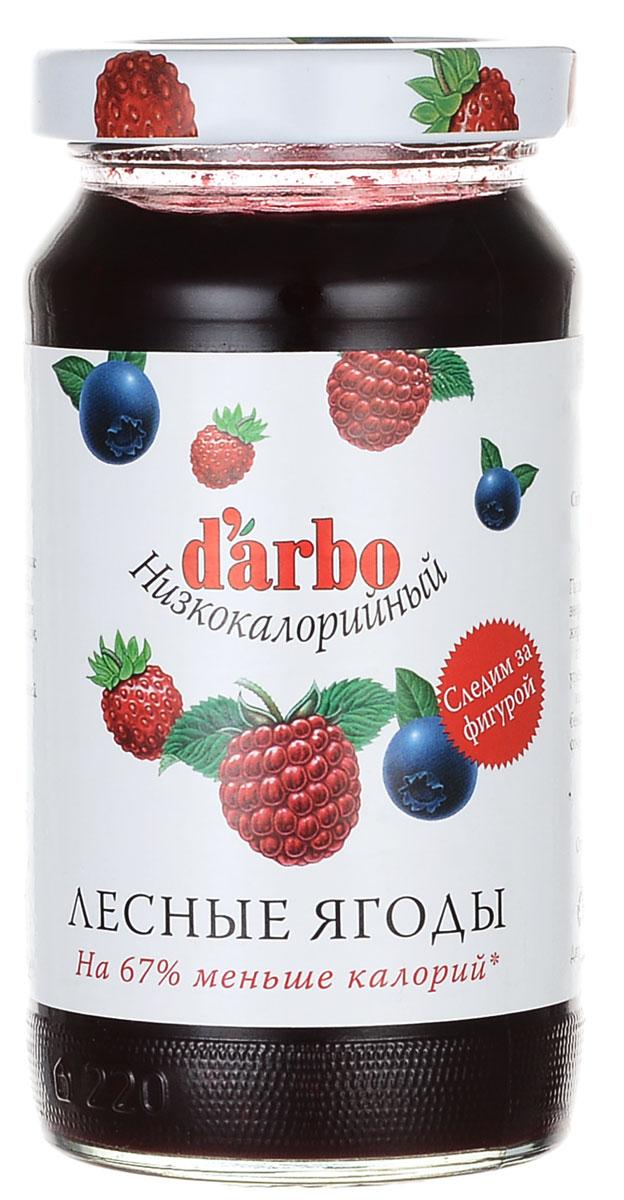 Фото - Darbo конфитюр лесные ягоды низкокалорийный, 220 г darbo конфитюр абрикос низкокалорийный 220 г