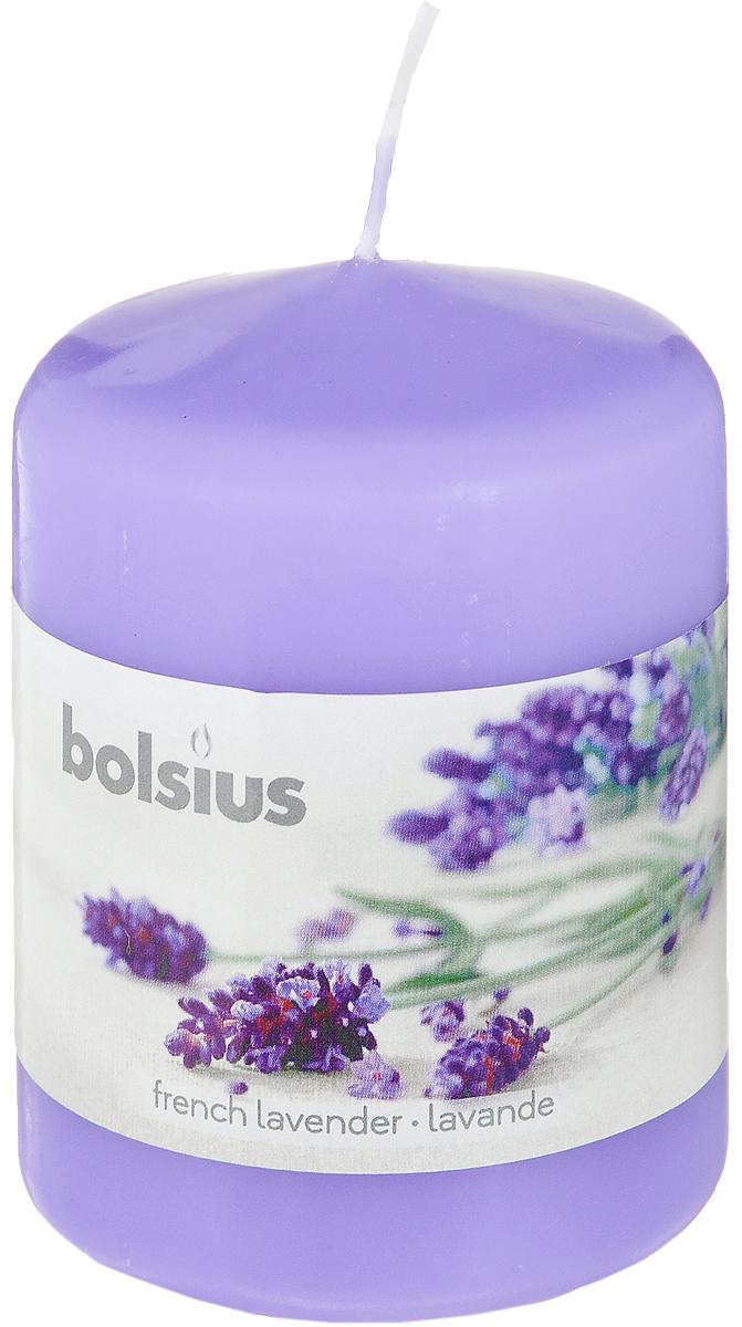 Свеча ароматическая Bolsius Лаванда, 6 х 6 х 7,3 см свеча ароматическая bolsius ландыш 6 х 6 х 11 5 см
