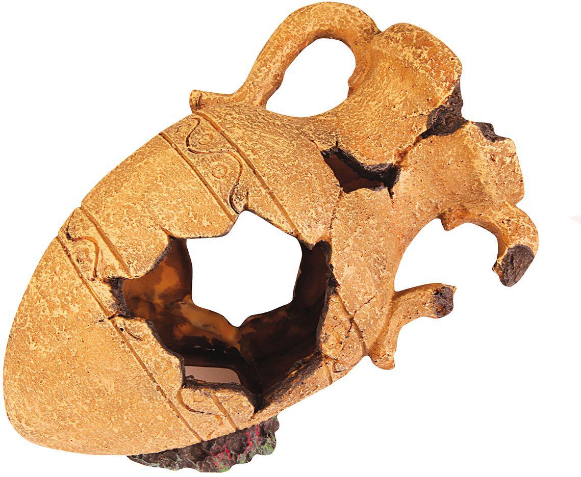 Декорация для аквариума Dezzie Кувшин. Амфора, 28,5 х 17,5 х 22 см кувшин декоративный 15 х 13 х 24 см