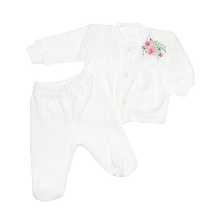 Комплект одежды Клякса комплект для девочки клякса боди кофточка брюки цвет экрю бежевый 33с 3173 размер 80