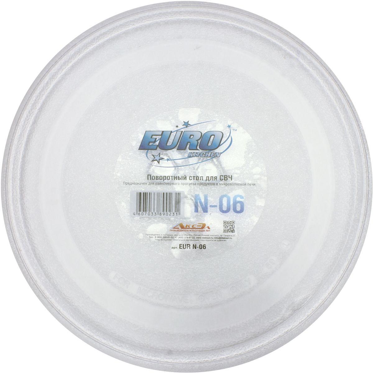 Euro Kitchen N-06 тарелка для СВЧ