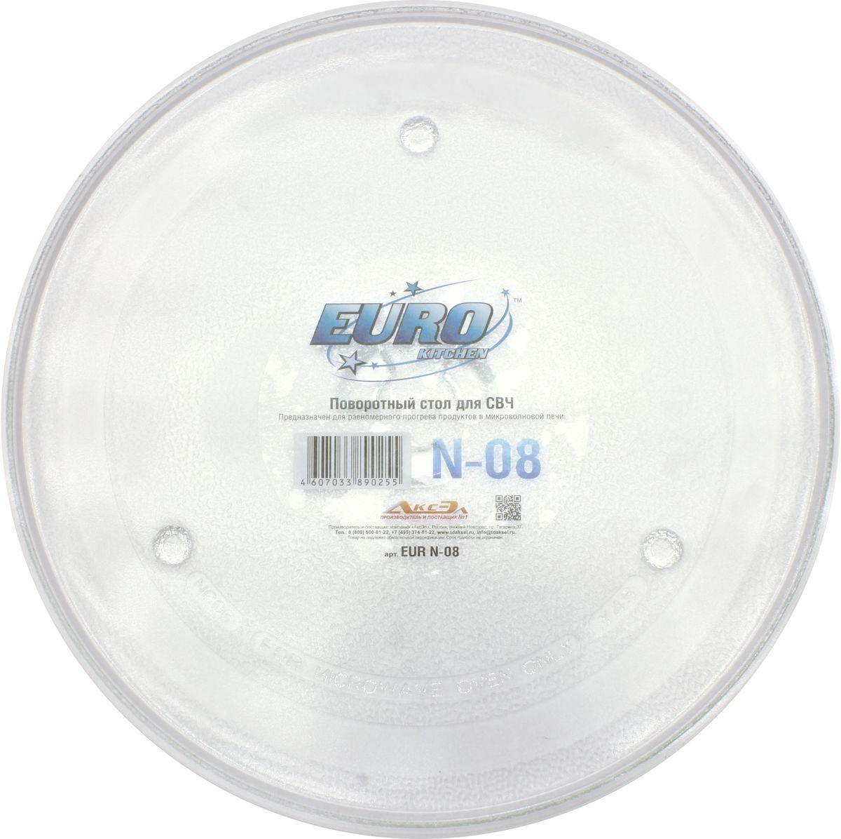 Euro Kitchen N-08 тарелка для СВЧ