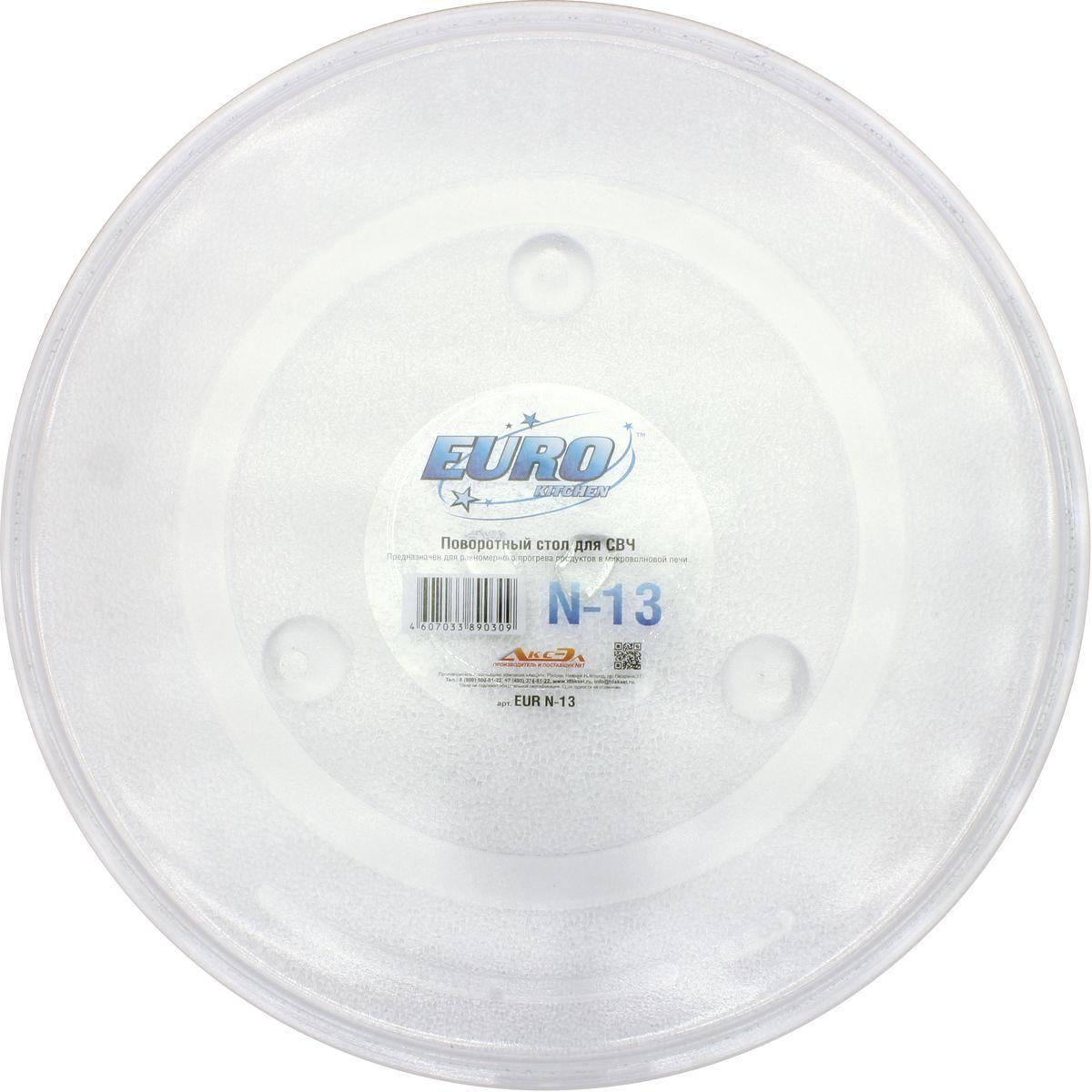 Euro Kitchen N-13 тарелка для СВЧ